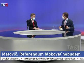 Matovič nebude blokovať referendum, no anketa je podľa neho amatérska
