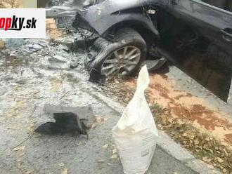 FOTO Tragická nehoda v meste Šaštín-Stráže: Jeden človek zomrel a traja sa zranili