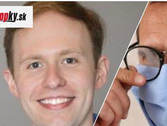 TRIK na nezaplatenie: FOTO Lekár vie, ako zabrániť zahmlievaniu okuliarov pri nosení rúška
