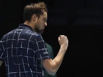 Medvedev sa stal prvýkrát víťazom turnaja majstrov