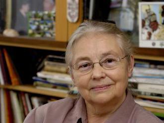 Zemřela literární historička a mluvčí Charty 77 Marie Rút Křížková