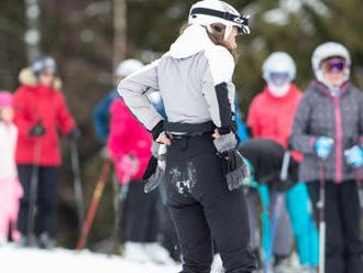Teplo lyžaře o víkendu neodradilo