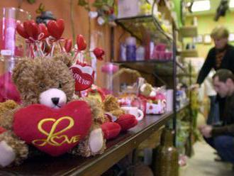 Sviatok sv.Valentína prináša obchodníkom vysoké tržby