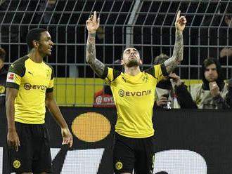 Dortmund si poradil s Frankfurtom