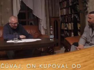 Na sieti sa objavilo video v ktorom sa Michal Šuliga a mafián Milan Reichel bavia o kšeftoch s ukrad