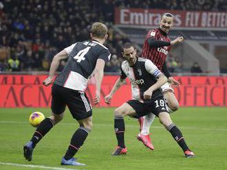 AC Miláno – Juventus Turín 1:1 v semifinále Talianskeho pohára