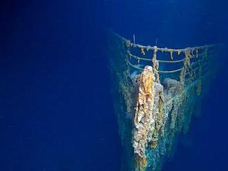 Hlas Titaniku. Telegraf, kterým loď volala o pomoc, chtějí vyzvednout z vraku
