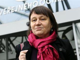 Soud začne řešit korupční kauzu Vidkun, Šabatová je poslední den ve funkci ombudsmanky