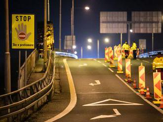 V rámci výstavby D4 a R7 uzatvárajú nájazd na Prístavný most