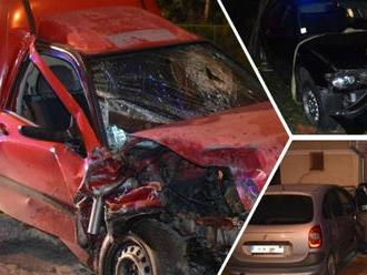 Polícia zverejnila FOTO po vyčíňaní opitých šoférov: Zdemolovali toho mnoho!