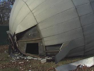 V Galante spadol 20-tonový vodojem, hrdzavé skrutky nevydržali silný vietor