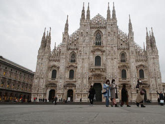FOTOČLÁNOK: Turistami obľúbené Miláno vyľudnil koronavírus. Zatvorené sú pamiatky aj múzeá