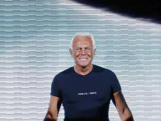Módna značka Armani bude v Taliansku vyrábať zdravotnícke kombinézy