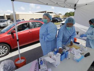USA evidujú najviac nakazených koronavírusom na svete