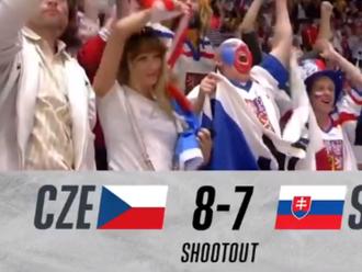 Fanúšikovia tesne rozhodli. Slovákov v súboji o bronz zdolali Česi