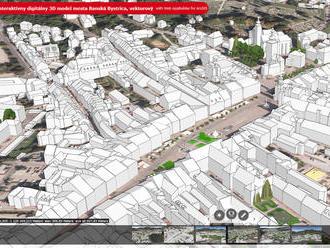 Banská Bystrica sprístupnila digitálny 3D model mesta