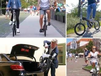 Slováci vyrobili unikátny bicykel: VIDEO Jeho funkcie vám vyrazia dych!