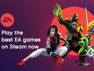 Electronic Arts se z Originu vrací zpátky na Steam. Zpřístupnili první várku her