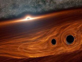 Astronómovia pravdepodobne spozorovali zrážku čiernych dier sprevádzanú jasným zábleskom