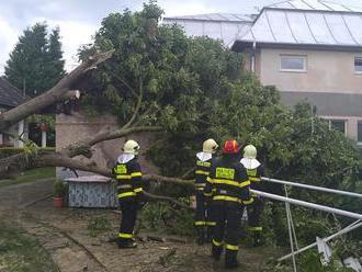 Vodný živel vyčíňa aj v Nižnom Čaji v okrese Košice. Vyhlásili 3. stupeň povodňovej aktivity