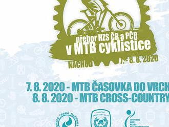 Přebor HZS ČR a PČR vMTB cyklistice se uskuteční ve dnech 7.– 8.8.2020 vNáchodě