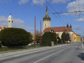 V Prešov na dvoch uliciach položia protihlukový asfalt
