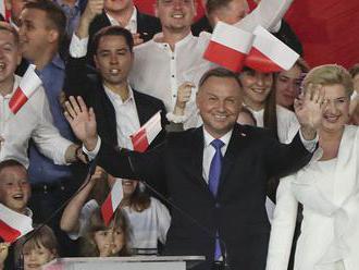 Rozdelené Poľsko si vybralo Dudu