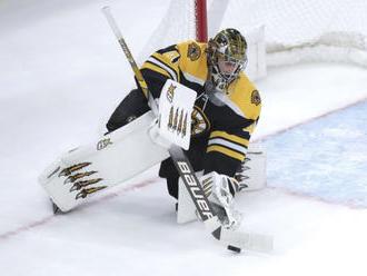NHL: Rask netrénoval, proti Flyers asi nastúpi Halák