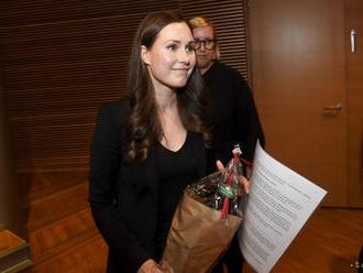 Fínska premiérka Marinová sa vydala za svojho dlhoročného partnera