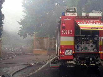 Požiar v domove dôchodcov v Zemianskych Kostoľanoch si vyžiadal dve obete