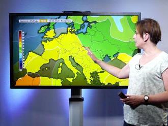 Horúčavy vládnu Európe aj Slovensku. Kde vás ochladí dážď?