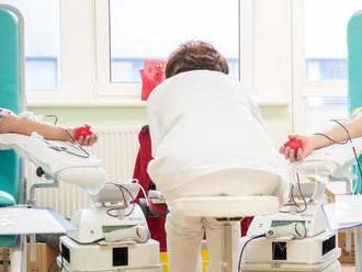 Potreba krvi počas leta je vyššia, počet darcov však klesá