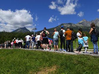 Návštevnosť horských stredísk vo Vysokých Tatrách je zatiaľ kolísavá, tvrdí TMR