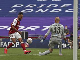 Arsenal vyhral FA Cup, dvoma gólmi sa o to postaral Aubameyang