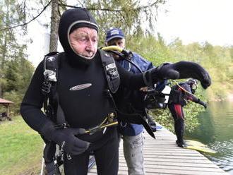 Nejstarší český potápěč   se zapsal do knihy rekordů