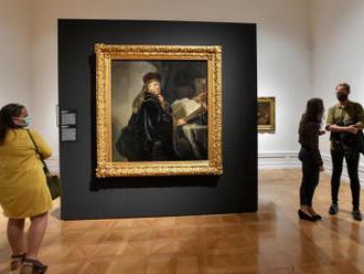 Výstava ukáže deset maleb Rembrandta z Česka i ze světa