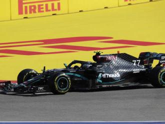 Trénink v Soči vyhrál Bottas, Hamilton předposlední
