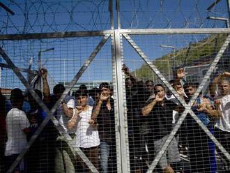 V blízkosti utečeneckého tábora na ostrove Samos vypukol požiar