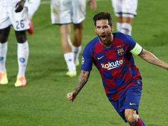 Messi dvakrát skóroval, Barcelona v príprave zdolala Gironu
