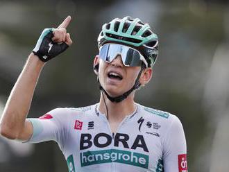 Bora-Hansgrohe chystá na horskej dráhe v Alpách útok na víťazstvo. Zelený dres už len vtedy, ak Benn