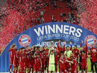 Superpohár patří Bayernu. Výhru v prodloužení vidělo v Budapešti 15 tisíc diváků