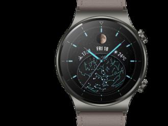 Huawei predstavil vylepšené športové hodinky Watch GT 2 Pro