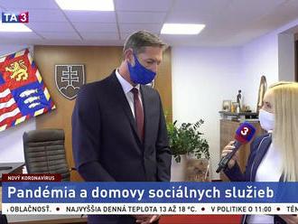 Predseda PSK M. Majerský o pandémii a domovoch sociálnych služieb