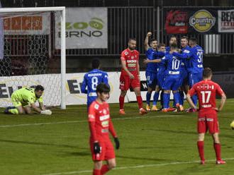 Fotbalisté Liberce zvítězili v ligové předehrávce v Brně 3:0