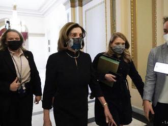 Snemovňa reprezentantov schválila podanie ústavnej žaloby na Trumpa