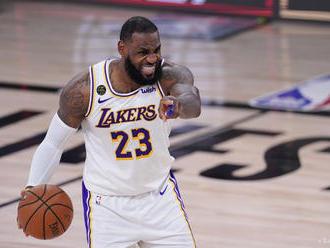 NBA: Lakers vyhrali aj siedmy zápas vonku, v Oklahome City 128:99
