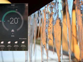 Meteorológovia namerali v noci teplotu pod -20 stupňov Celzia