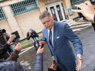 """Fico: """"Na Slovensku pôsobí organizovaná justično-mediálna skupina"""""""