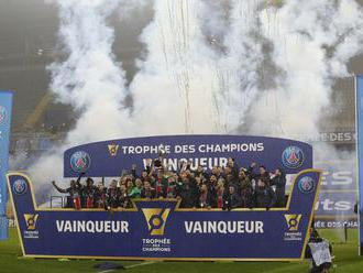 Paríž St. Germain zdolal Marseille 2:1 v súboji o francúzsky Superpohár