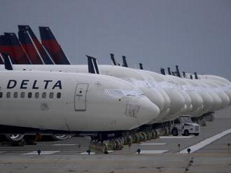 Letecká spoločnosť Delta za minulý rok vykázala stratu 12,4 miliardy dolárov